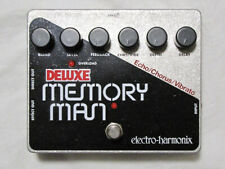 Used Electro-Harmonix EHX Deluxe Memory Man Delay Guitar Effect Pedal