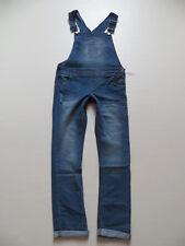Damen Latz Jeans Hose Gr. 36 / 38, /L 32, NEU ! Vintage Latzhose Denim Overall !