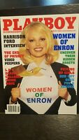 Vintage August 2002 Playboy Issue -featuring  The Women of Enron! EX++-NEAR MINT