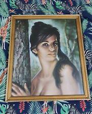 TINA BY JH LYNCH ORIGINAL 1961 -  TRETCHIKOFF ERA Framed Print - Vintage - Retro