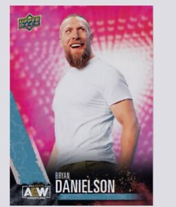 First Ever AEW Card Daniel Bryan Bryan Danielson #2 Upper Deck *PRESALE* Rare