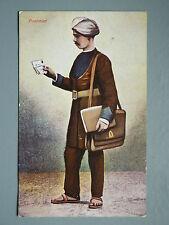 R&L Postcard: The Indian Postman, 1916