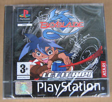 Videogame BEYBLADE Let it RIP! Playstation 1 PSX PSONE NEW&SEALED