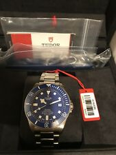 2018 New Tudor Pelagos Blue, 2Yr Factory Warranty, extra straps,Rolex Submariner