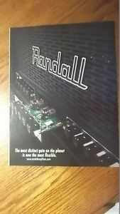 2000 PRINT AD Randall Amps Most Distinct Gain On Planet