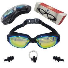 Swim Goggles, Swimming Goggles No Leaking Anti Fog UV Protection Triathlon Swim
