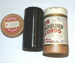 """MINTY EDISON PHONOGRAPH CYLINDER RECORD #9767, """" AUGUST AND KATRINA """" VAUDEVILLE"""
