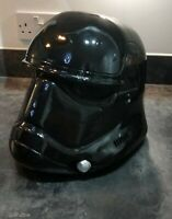 """Star Wars First Order Helmet 3d printed """"Adult size, non-assembled, Unpainted."""