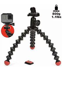 Joby GorillaPod JB01300 Action Tripod with GoPro Mount - Black/Red