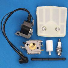 Ignition coil Carburetor air filter for Tillotson Hs260S Husqvarna 61 Chainsaw