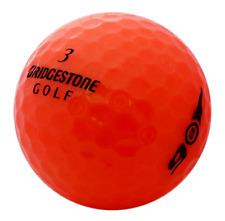 50 Bridgestone e6 Orange AAA/Standard Grade Golf Balls *Free Tees!*