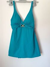 BNWT 100% Auth Michael Kors Tile Blue Swimsuit With Logo. 6 RRP £149