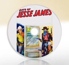 The Days Of Jesse James (1939) DVD Classic Western Film / Movie Roy Rogers