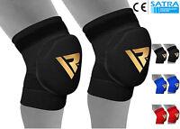 RDX Work Wear Knee Pads Protector Brace Support Heavy Duty MMA Training Sports