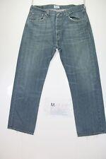 Levi's 501 (Cod. M1733) tg50 W36 L30  jeans usato vintage.