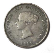1854 1c One Penny Token New Brunswick Canada Copper
