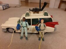 Vintage Ghostbusters Ecto 1 Vehicle Rare Kenner 1984 Car With Figures And chair