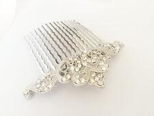Victoria cheveux peigne great gatsby mariée peigne strass cristal vintage art deco