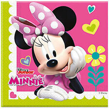 Napkins Paper Official Disney Minnie For Party Birthday 40 Pz 1412