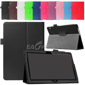 """For Huawei MediaPad T3 10 9.6"""" inch Tablet Various PU Leather Stand Cover Case"""
