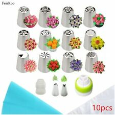 HOT  Cake Tools Icing Piping Confectionery 18pcs/set - Stainless Steel