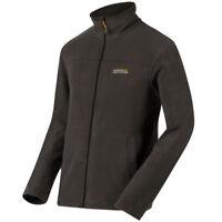 Fleece Regatta Fairview Mens Thin Lightweight Full Zip Thermal Jacket Seal Grey