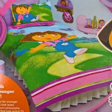 ~ Dora the Explorer - DOUBLE BED QUILT DOONA DUVET COVER