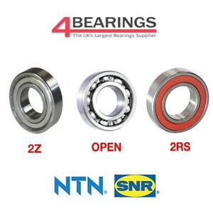 NTN Bearing 6000 - 6312 Series - Open - LLU - ZZ - C3 - CM - *Choose your size*