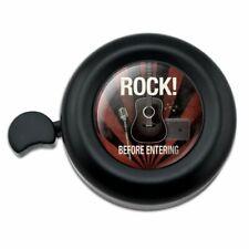 Rock Before Entering and Roll Music Guitar Bicycle Handlebar Bike Bell