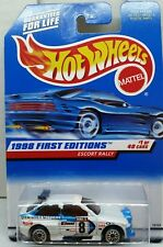 Hot Wheels Ford Escort Rally 1998 First Editions Guaranteed for Life 1/40
