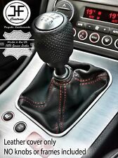 RED STITCHING MANUAL LEATHER GEAR STICK GAITER FITS ALFA ROMEO 159 2005-2011