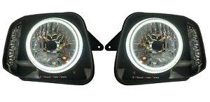 *ALTEZZA* HEAD LIGHT LAMP (ANGEL EYES LED) for SUZUKI JIMNY SN413 1998-2017 PAIR