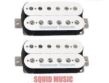 Seymour Duncan Custom TB-5 Bridge Trembucker & Jazz SH-2n Neck White Set