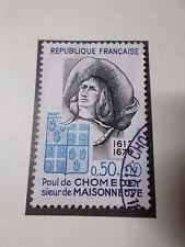 FRANCE 1972, timbre 1706, CELEBRITY PAUL DE CHOMEDEY, oblitéré, VF STAMP