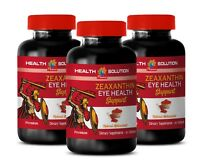 healthy eye lens - Zeaxanthin Eye Health - anti aging antioxidant 3 Bottles