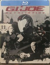 G.I. Joe: Retaliation (Blu-ray Disc, SteelBook Best Buy) NEW SEALED