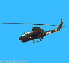 Minitanks H0 318 BELL AH-1G COBRA Hubschrauber Bausatz US Army HO 1:87 Herpa