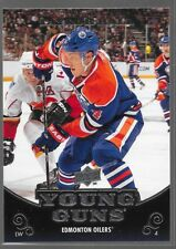 10/11 Upper Deck Young Guns Rookie RC Taylor Hall 219 Oilers