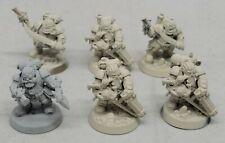 W:AOS Kharadron Overlords Arkanaut Company Captain Heads Bits 2 Bitz