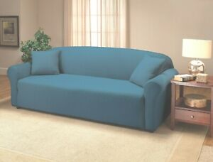 """JERSEY """"FITTED"""" COBALT COVER FOR SOFA LOVESEAT CHAIR OR RECLINER-A TOP CHOICE  F"""
