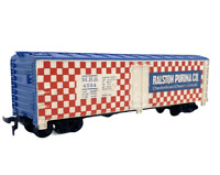 HO Scale Train Box Car Ralston Purina Co. MRS 4554 Vintage Train Car Checkered