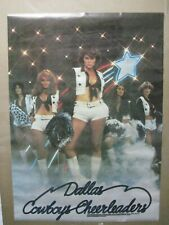 DALLAS COWBOYS CHEERLEADERS VINTAGE POSTER GARAGE 1977 HOT GIRLS CNG1138