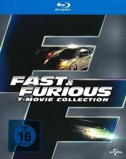Fast & Furious 1-7 - Box [Blu-ray] gebr. gut