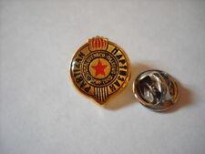 a4 PARTIZAN BEOGRAD FC club spilla football calcio фудбал pins badge игле serbia