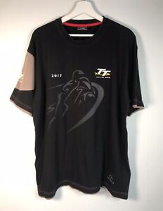 2017 Official Isle of Man TT Races Mountain Course T Shirt Size XL