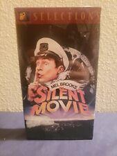 Silent Movie - VHS Mel Brooks, Marty Felman, Dom DeLuise, Key Video NEW SEALED