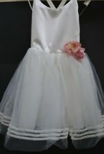 Designer girls ballet dress Sz  5 Australian ballet Collette Dinnigan BNWT cream