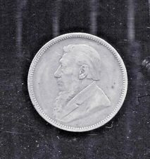 ZAR - BEAUTIFUL HISTORICAL RARE 1893 SILVER 2 SHILLINGS KM# 6