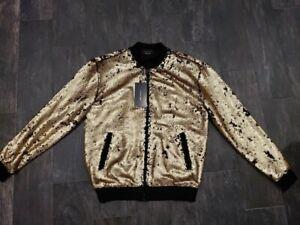 Zara Embellished Bomber Jacket size Medium