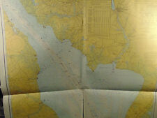 3 Delaware Bay River Marine Charts Maps Coast Geodetic Survey 1970 Geography art